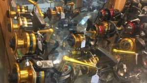 Fishing reels for deep sea fishing