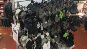 Footwear sandals and thongs