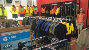 Workwear for indoor and outdoors