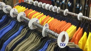 Workwear hi-vis shirts and outdoor workwear clothing