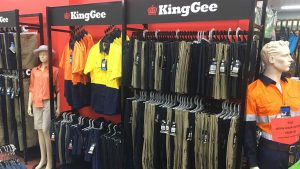 Workwear King Gee clothing